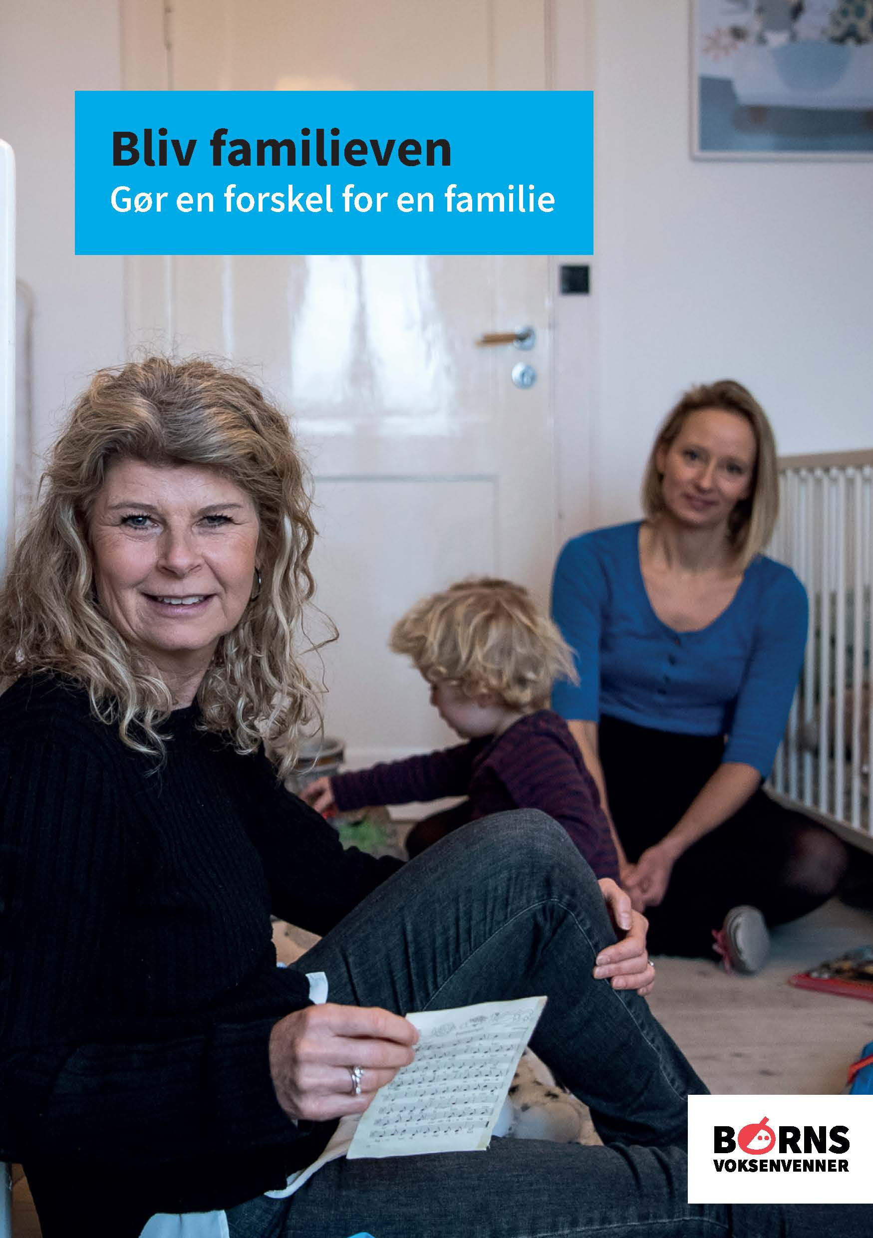 Hvervefolder for familievenner - Klik for at læse